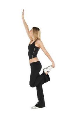 Upright Leg Stretch