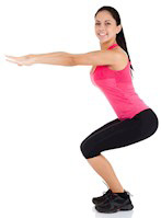 Air Squats Warm Up Your Lower Body Nicely
